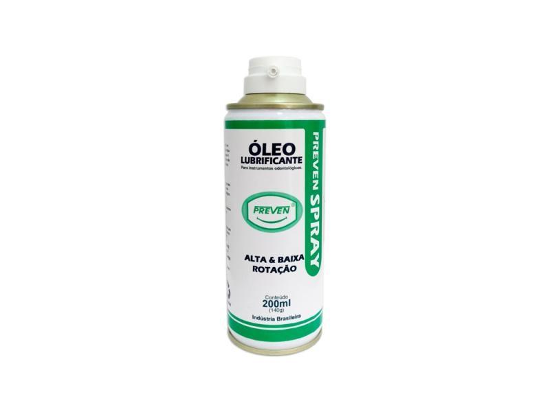 óleo spray lubrificante alta e baixa rotação