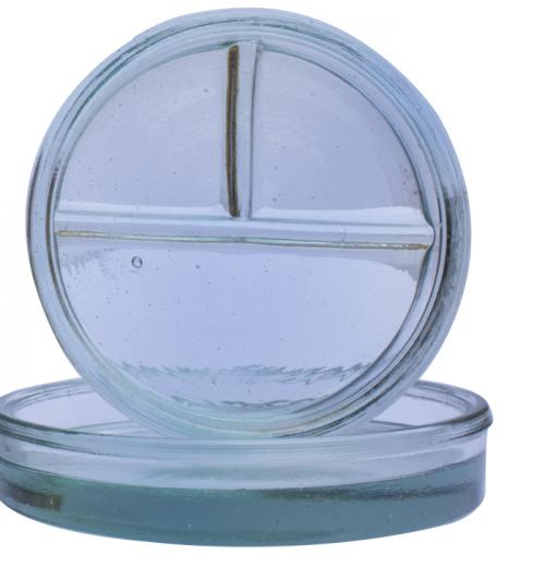 Capsula de Petry Vidro Incolor