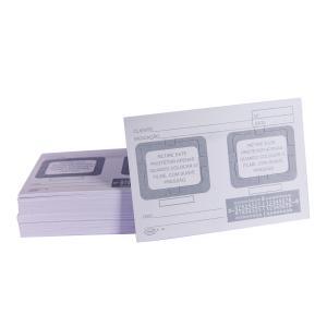 Cartão Raio-X Com 02 Furos P-06