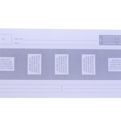Cartão Raio-X Com 05 Furos P-09