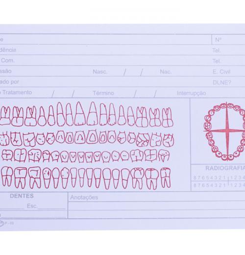 Ficha Clinica Simples P-03